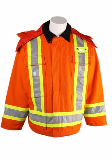 Winter High Visibility Safety Jacket Workwear