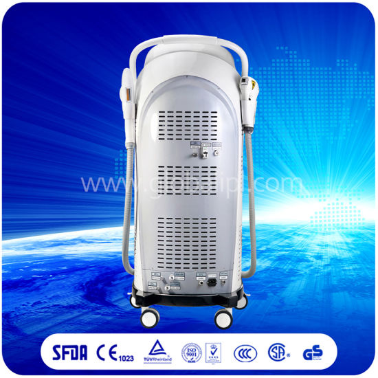IPL/Shr+Big Spot Size Diode Laser Parament and Painfree Hair Removal Skin Lifting Machine 419 pictures & photos