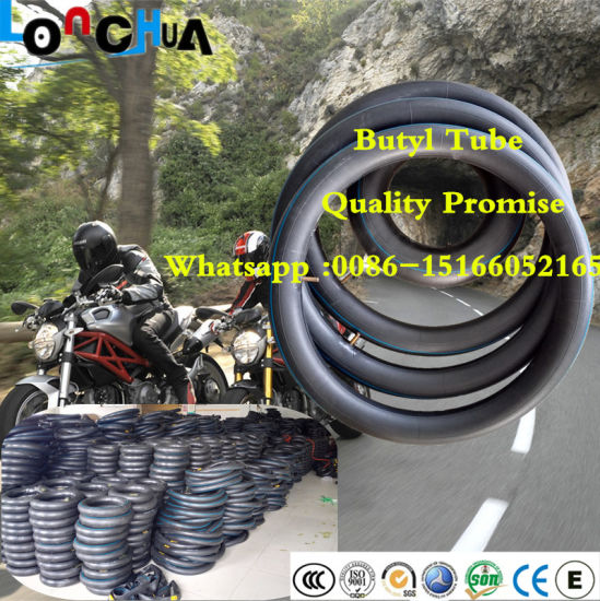 Natural and Butyl Rubber Motorcycle Inner Tube (3.00/3.25-17) pictures & photos