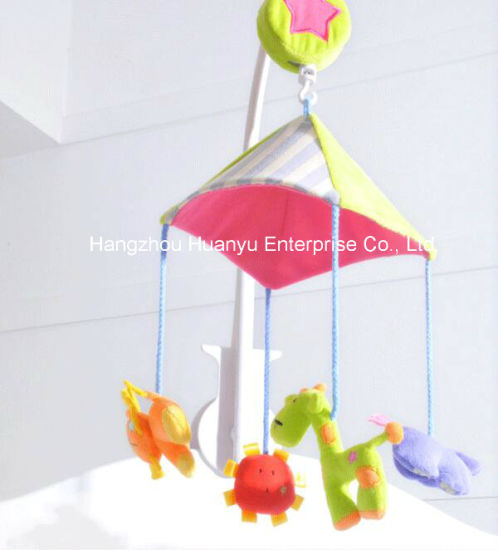 Baby Bed Musical Movement Hang Animal Toy