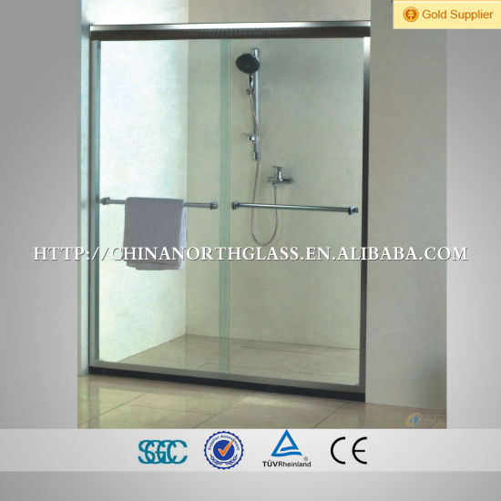 Shower Room Frosted 12mm Toughened Glass pictures & photos