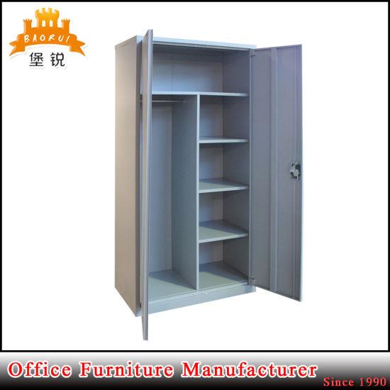 Assemble Steel Wardrobe Almirah Closet Furniture/ Indian Bedroom Wardrobe Designs