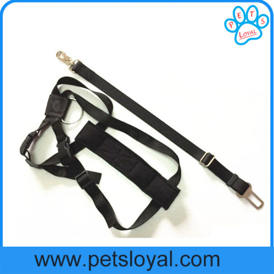 Factory Wholesale Pet Accessories Dog Seat Harness Car Safety Belt