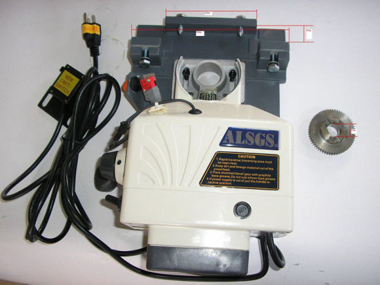 Alb-310sx Horizontal Electronic Power Feed for Milling Machine (X-axis, 220V, 450in. lb) pictures & photos