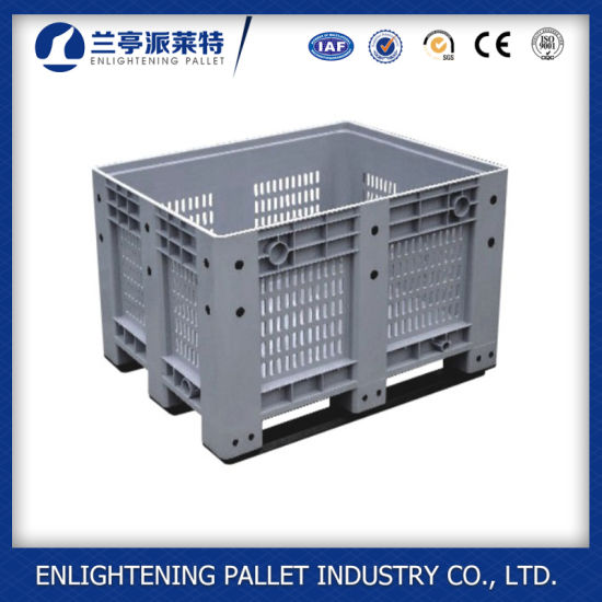 Large Volume Fruit and Vegetable Plastic Pallet Box for Sell