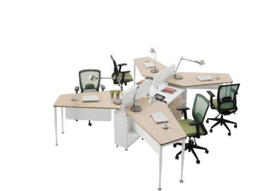 Modern Style Modular Table Made of Melamine (OWCK4003-16)