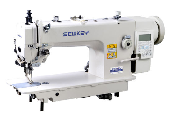 Sk0303-D3 High-Speed Direct-Drive Lockstitch Industrial Sewing Machine with Auto Trimmer