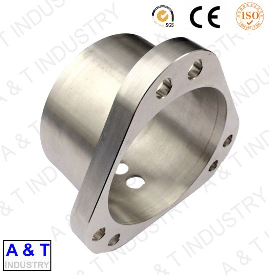 CNC Customized Aluminium Alloy/Brass Lathe Turning Machine Mechanical Parts pictures & photos