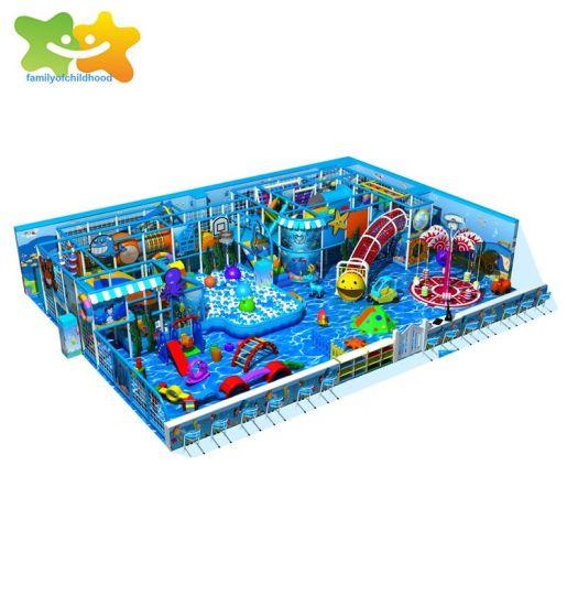 SGS Certification Amusement Park Shopping Mall Indoor Children Playground Equipment