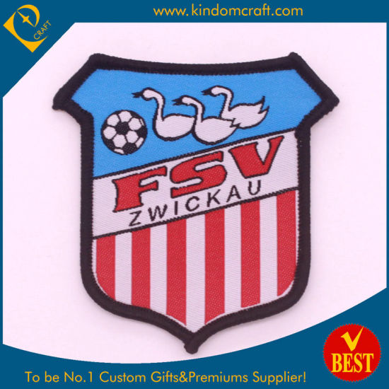 Custom T-Shirt Shape Unique Logo Country Flag Sport Events Embroidered Emblem Patch Embroidery Badge