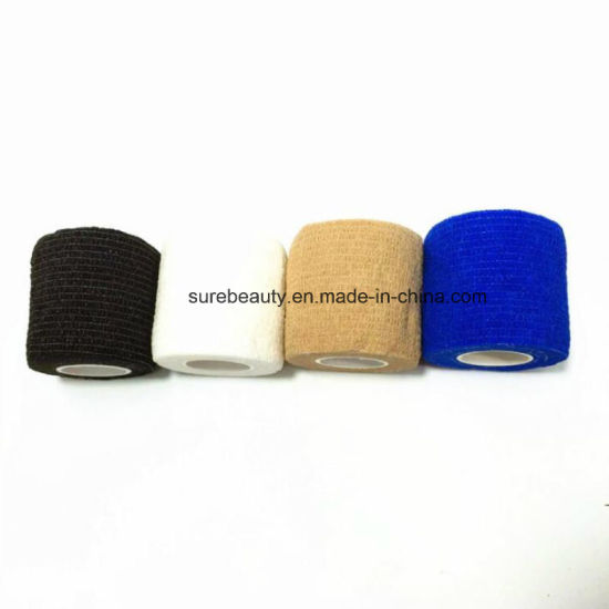 Tattoo Accesories Beauty & Health Tattoo Self-adhesive Non-woven Elastic Bandage Grip Tube Cover Wrap Sport Tape
