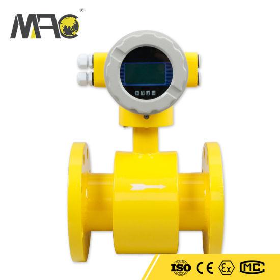 Hydrostatic Electromagnetic LCD Display Water Flow Sensor
