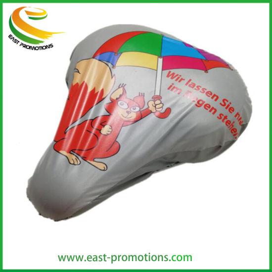 Custom Logo Printing PVC Bike Seat Cover Saddle Cover with Low MOQ