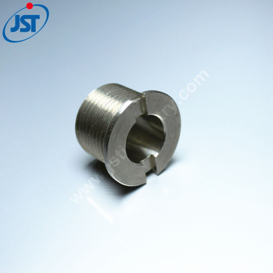 Custom Precision CNC Machining Ss Threaded Connector Boat Parts