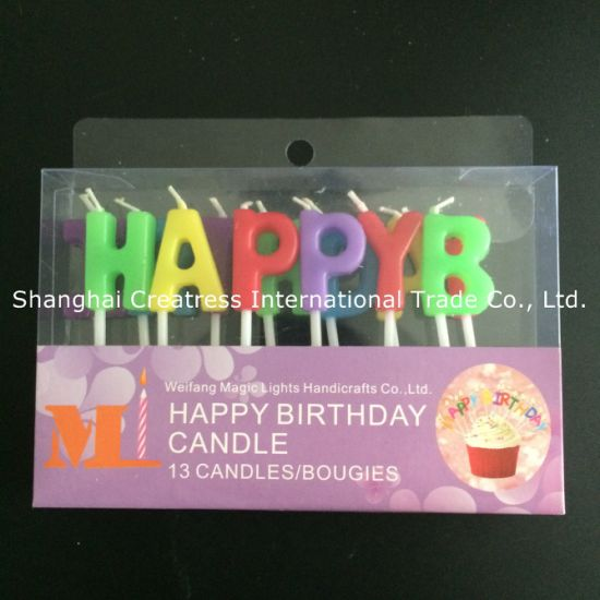 Superb China Customer First Factory Direct Happy Birthday Letter Candles Personalised Birthday Cards Veneteletsinfo