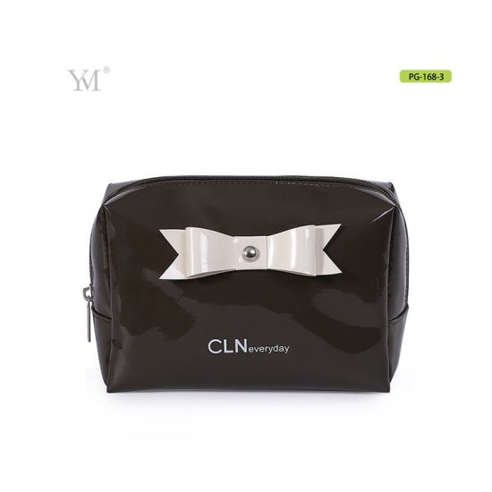 Cute Lovely Bowknot Cosmetic Pouch Makeup Toiletry Bag