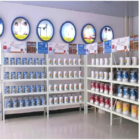 Galvanized or Powder Coated Rivet Warehouse Storage Light Duty Rack Shelving