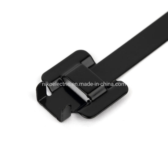 Stainless Steel Cable Tie Releasable Belt for Motor Car