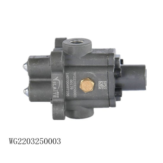 Original Sinotruk HOWO Truck Spare Parts Double H Valve Assembly Wg2203250003