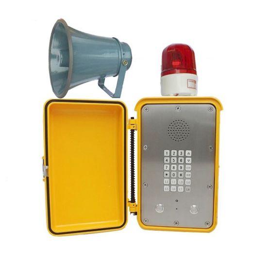 Rugged IP66/IP67 Waterproof Telephone VoIP/Analogue Phone with Loud Speaker