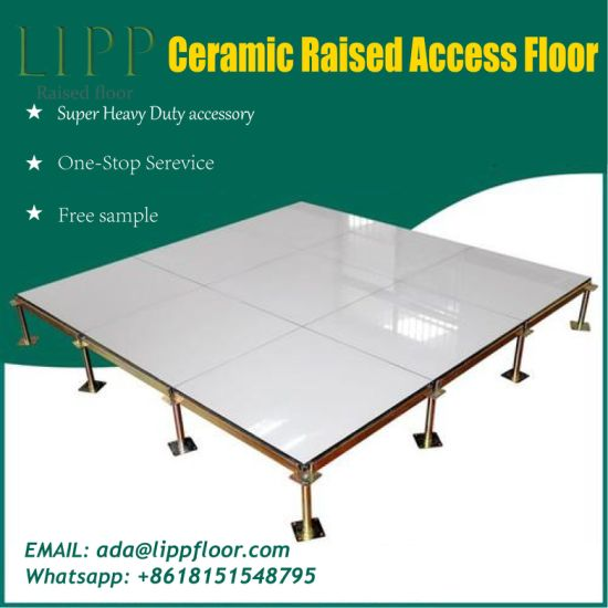 Anti-Static Raised Access Floor with Ceramic Tile pictures & photos