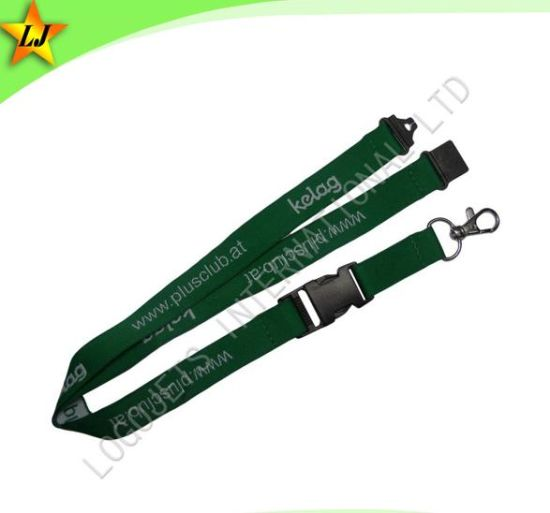 High Quality & Low MOQ Woven Lanyard (LJ081) pictures & photos