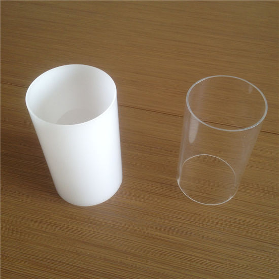 Clear Colored Acrylic Plastic Tubes with Dimenstions pictures & photos