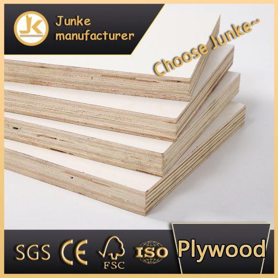 Melamine Marine Board Waterproof Poplar Plywood in China