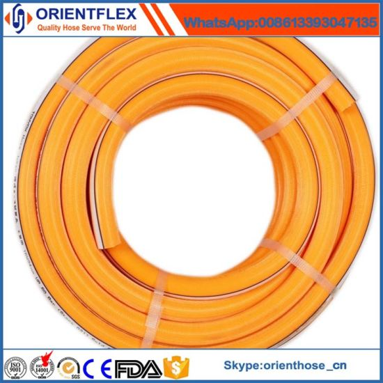 Superior Quality PVC Cover Fiber Reinforcement Gas Hose pictures & photos