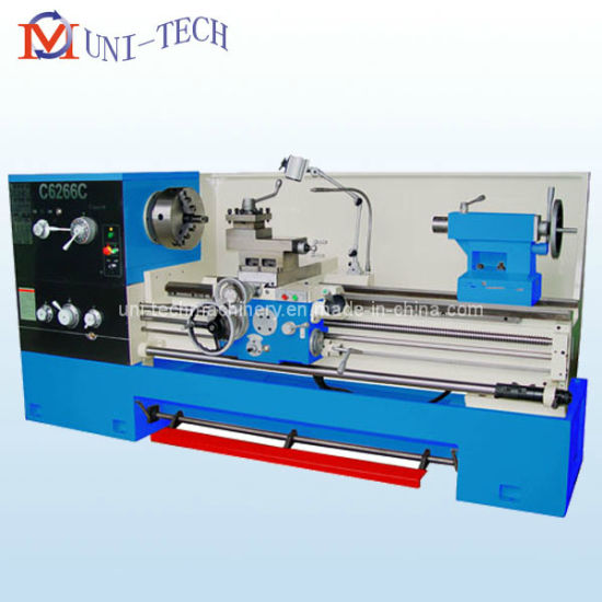 Precision Big Bore Gap Bed Lathe Machine