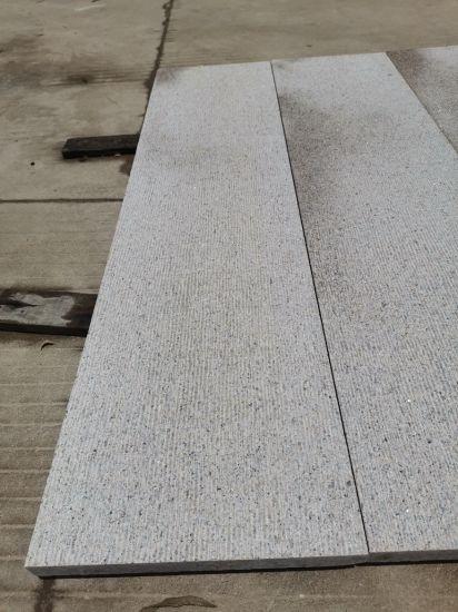 G682 Yellow Granite Steps Rust Granite Floor with Satin Finish