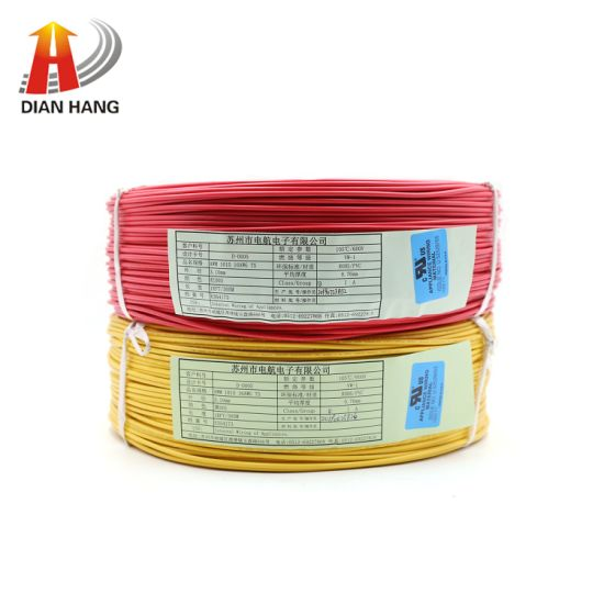 RoHS 600V UL1015 Electronic Insulated Soft PVC Cable UL for House Wiring Copper Thinned Wire VGA Cable Lvds Cable