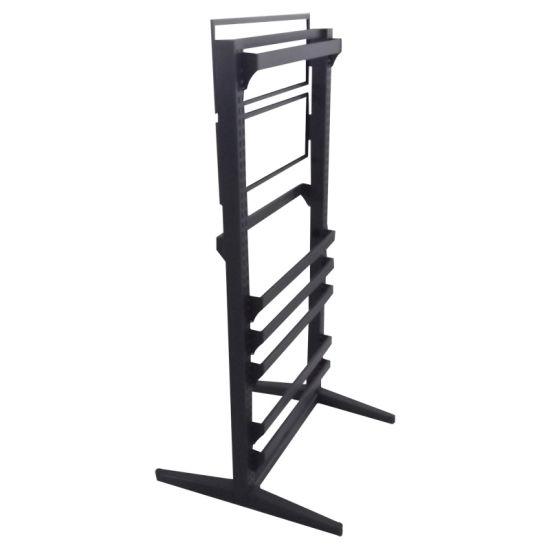 Metal Display Rack with Hanging Bars