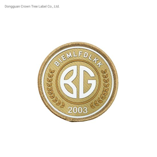 Custom 3D Raised Silicon Logo Silk-Screen Printing High Density Patches for Clothing Label Hot Sale