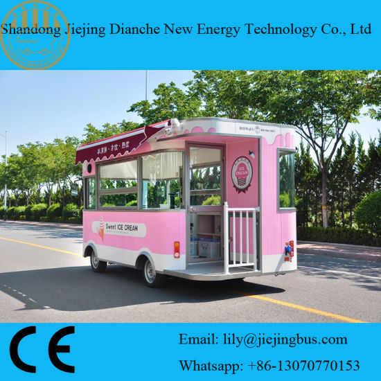 Buy A Food Truck >> Food Truck To Buy With Thermal Insulation Material Ce