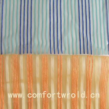 Plain Voile Curtain Fabric