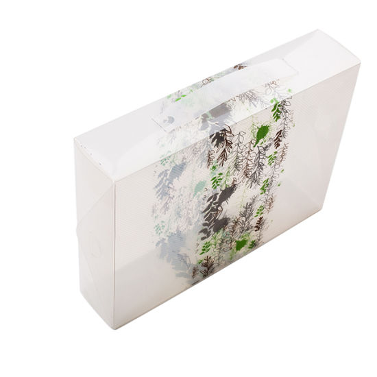Custom Printing Transparent PP Plastic Box Packaging for Gift