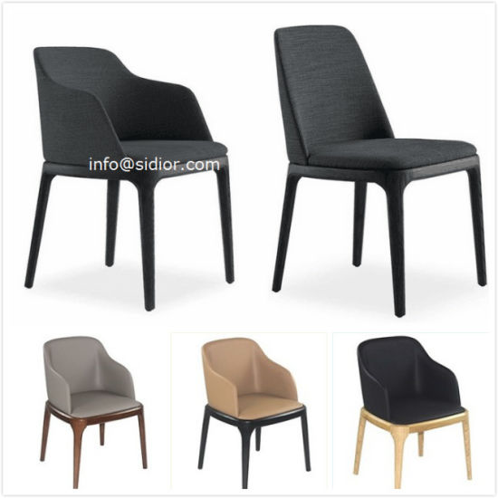 Outstanding Sd1014 Modern Hotel Furniture Wood Leather Upholstery Restaurant Dining Chair Gmtry Best Dining Table And Chair Ideas Images Gmtryco