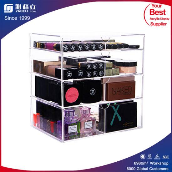 China Custom Made Acrylic Clear Cube