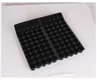 Black PVC Blister Tray for Hardware Parts PVC Blister Tray for Hardware Parts