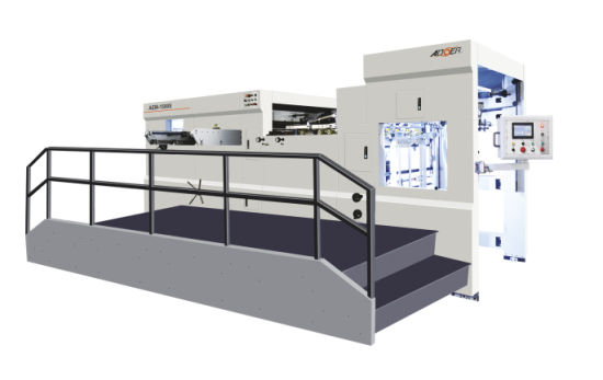 AEM-1500QS Manual Automatic Dual Purpose Die Cutting Machine with Waste Stripping