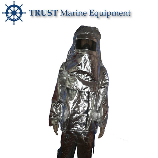 Solas Approved Aluminized Fire Resistant Suit