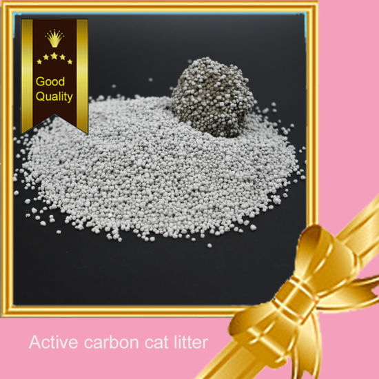 Pet Supply: Good Quality Active Carbon Cat Litter