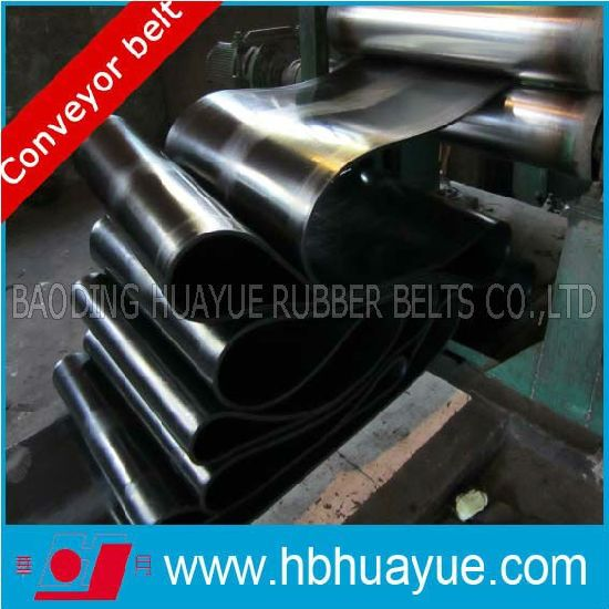 Quality Assured Oil Resistant Rubber Conveyor Belting System Huayue 100-5400n/mm Ep Cc Nn St pictures & photos