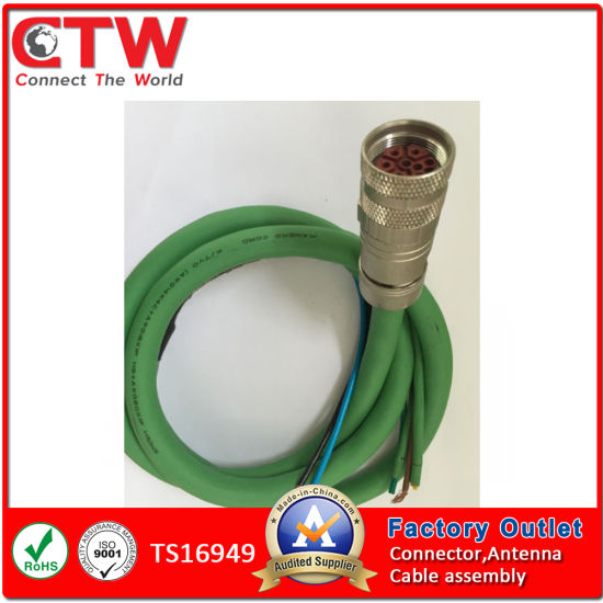 Magnificent China M23 Cable Assembly For Industry Automation China Wire Wiring 101 Mecadwellnesstrialsorg