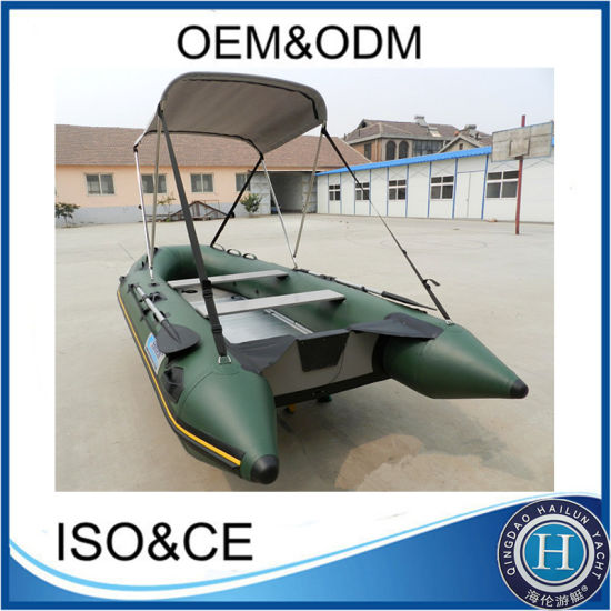 Ocean PVC Inflatable Boat Inflatable Rubber Motor Boat