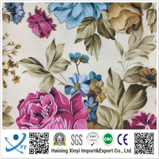 Custom Digital Print Design Your Own Polyester Printed Fabric pictures & photos