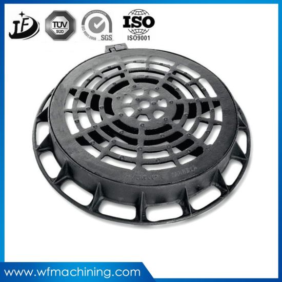 OEM Ductile Iron/Sand Casting Septic Tank Manhole Cover pictures & photos
