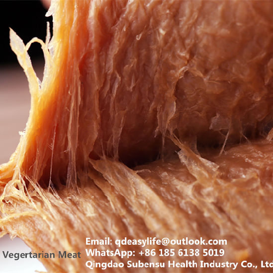 Halal Approved Food Snack Vegetarian Meat Dried Tofu Black Duck Flavor