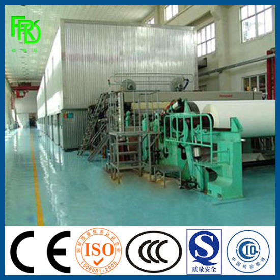 High Quality Culture Writing Paper Making Machinery with Resonable Price / Office Paper Making Machinery